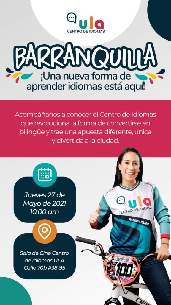 El Centro de Idiomas ULA abrirá nueva sede en Barranquilla