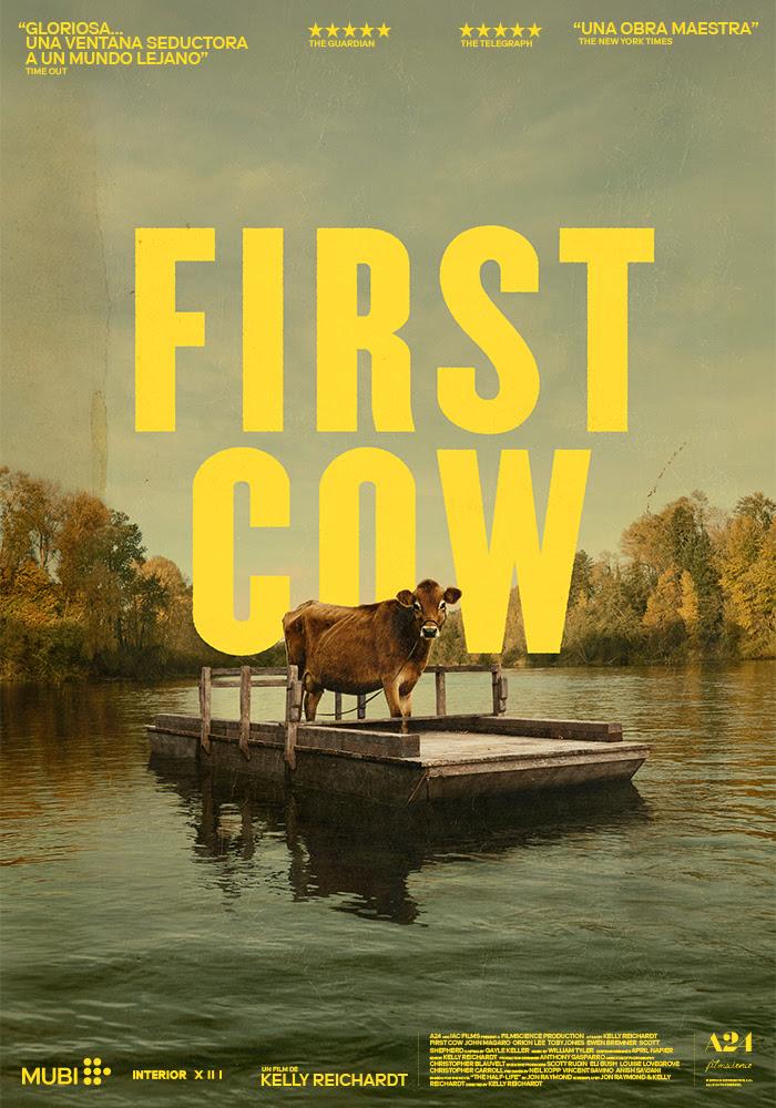 FIRST COW 🐄 Trailer y cartel oficiales