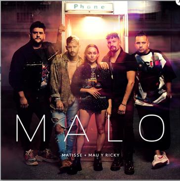 Matisse y Mau y Ricky presentan su nueva canción «Malo»