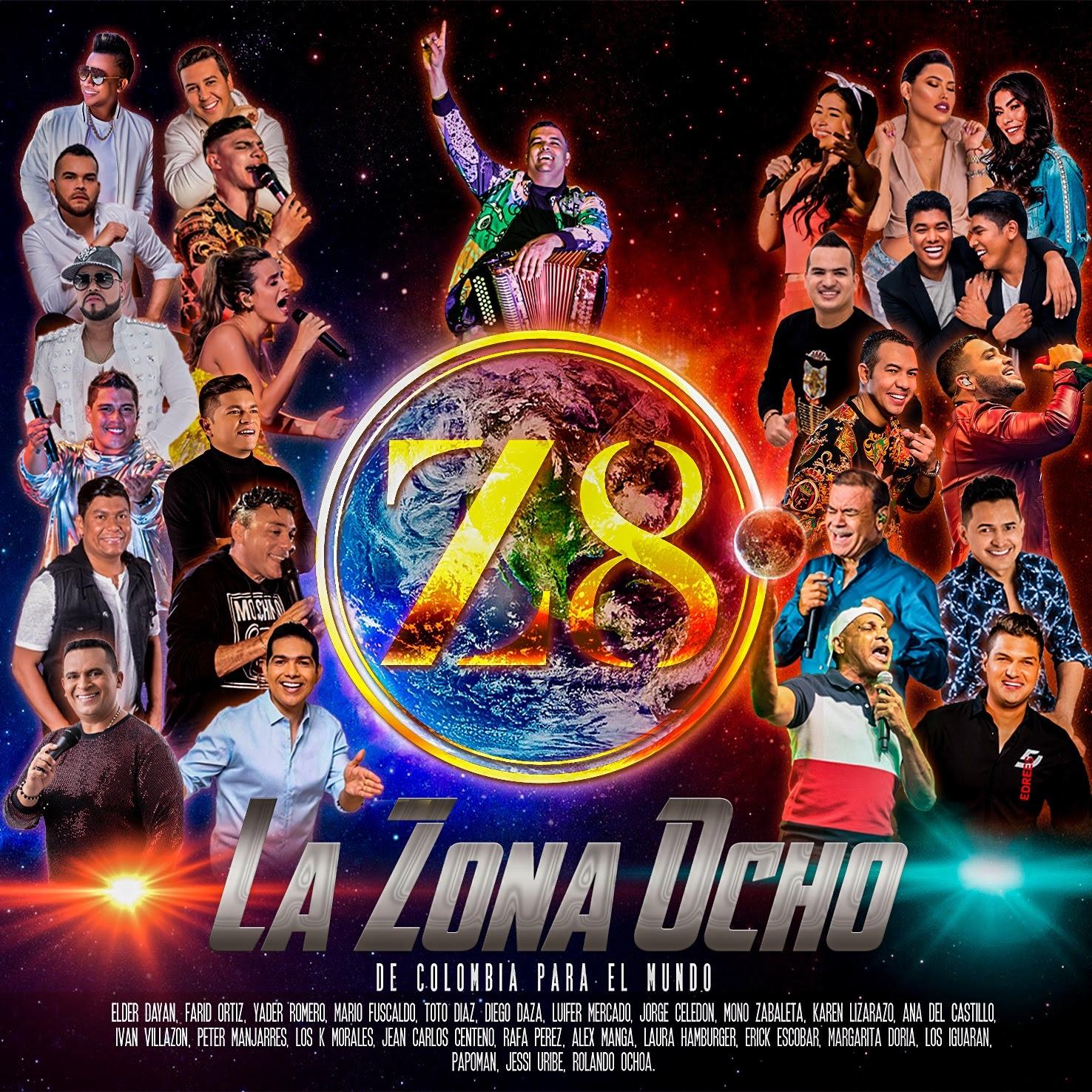 'La Zona 8, de Colombia para el mundo', la sorpresa musical del vallenato