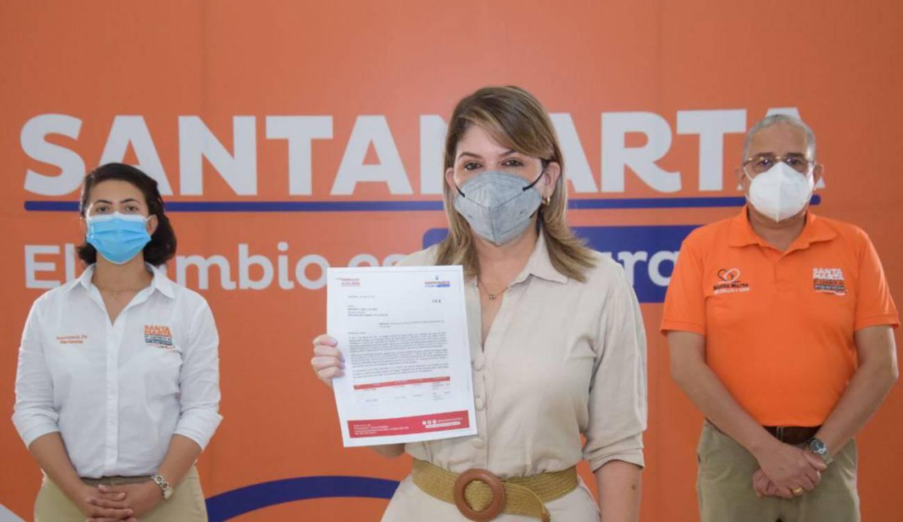 Denuncian ante la Procuraduría embargo de cuentas del Distrito de Santa Marta