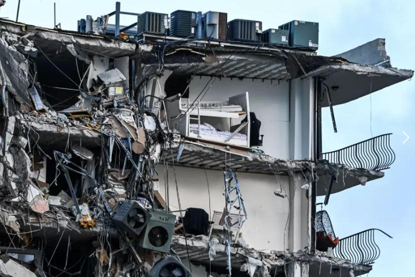 A cuatro se eleva el número de muertes confirmadas en colapso de edificio en Miami