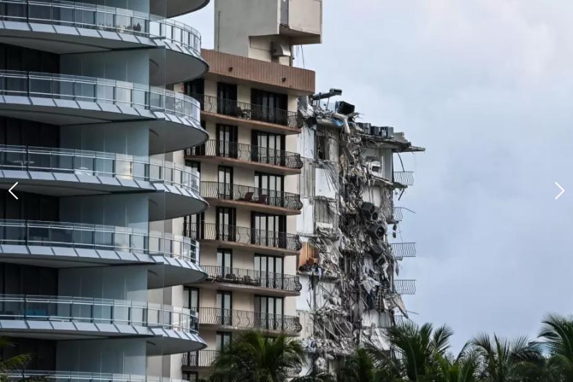 Número de muertos en colapso de edificio en Miami asciende a 16