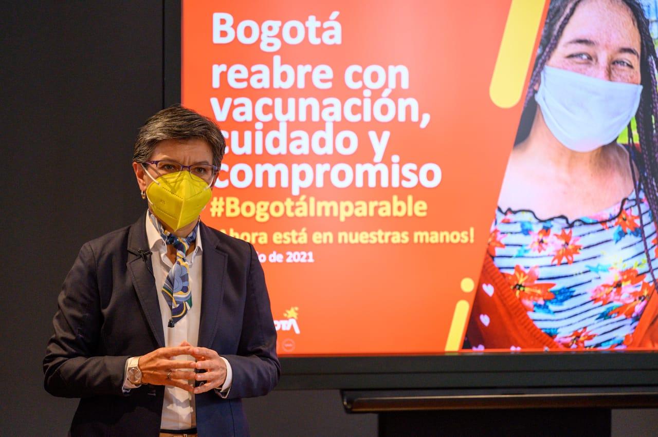 Bogotá reabre con vacunación, cuidado y compromiso a partir del próximo 8 de junio – @Bogota