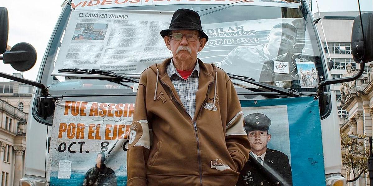 Don Raúl Carvajal murió por COVID-19, esperando la verdad sobre el asesinato de su hijo