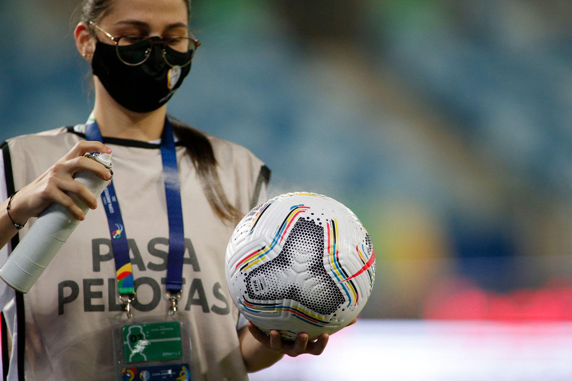 En la Copa America siguen encontrando casos positivos de COVID-19