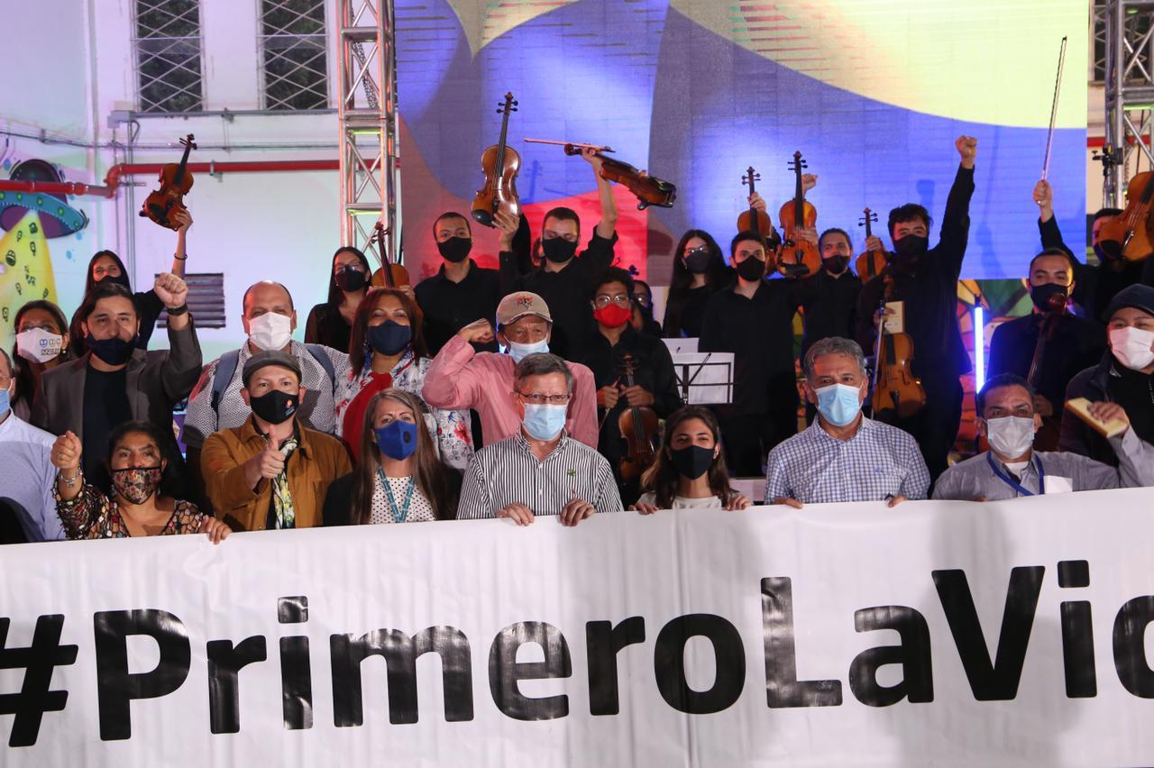 Con un concierto en homenaje a las víctimas de la violencia, cerró sus actividades Mayo UNIDOS por la Vida