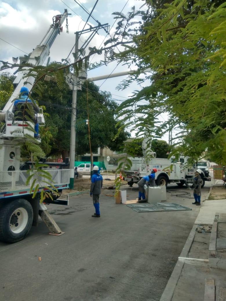 1.557 familias beneficiadas con reposición de redes eléctricas en el barrio La Unión – @aire_energia