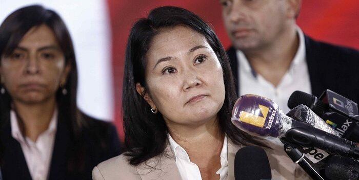 Fujimori rechaza derrota y sostiene que aún faltan actas por resolver