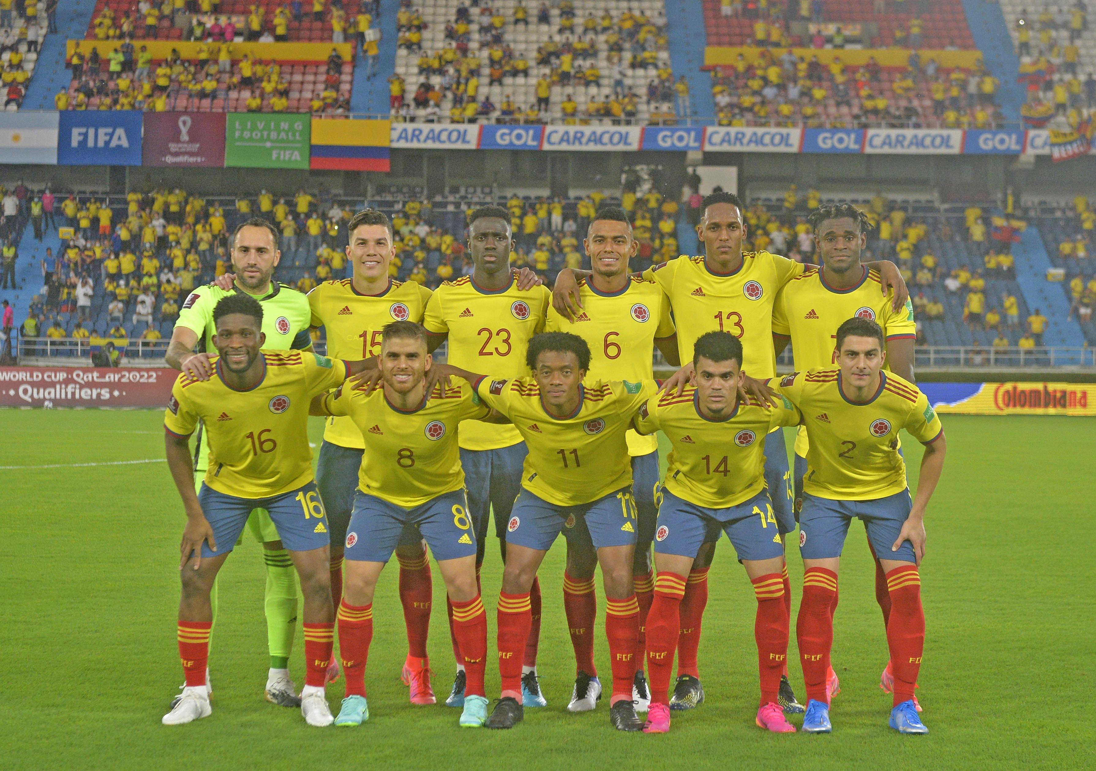 Con berraquera!!!! Colombia lo empató sobre la hora ante Argentina en Eliminatorias