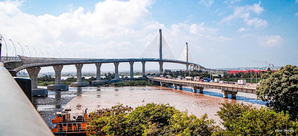 No hay filtraciones de agua en el nuevo puente Pumarejo: INVIAS