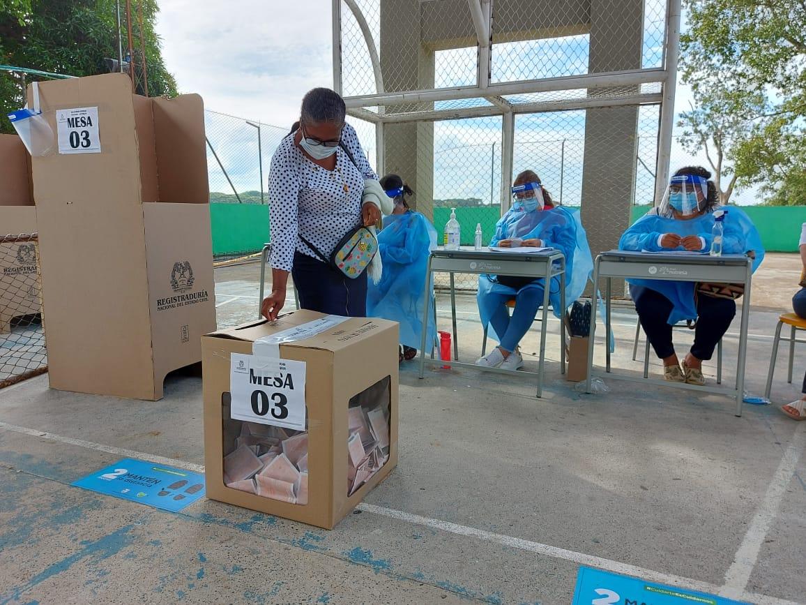 Terminó con normalidad jornada de elecciones atípicas para alcaldía en Caucasia