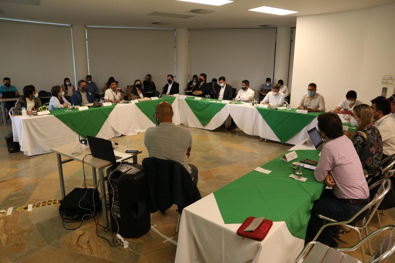 Gobernación de Antioquia realizó la quinta sesión del Comité Científico para la Emergencia Climática