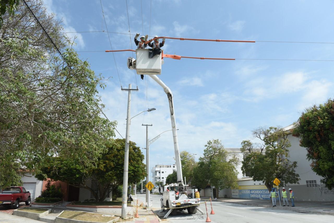 Este miércoles 22 de septiembre Labores de mejora de redes en sectores de La Cumbre y Las Estrellas – @Aire_Energia