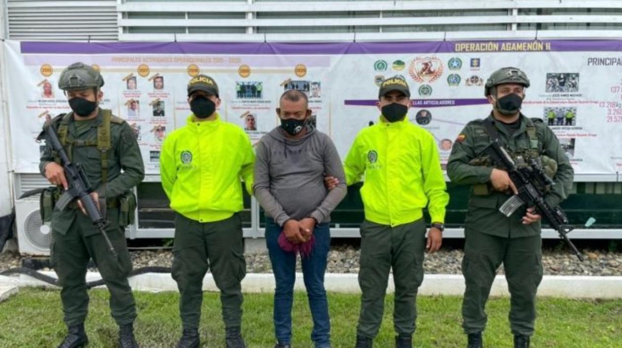 A la cárcel presunto cabecilla del 'Clan del Golfo' en Córdoba