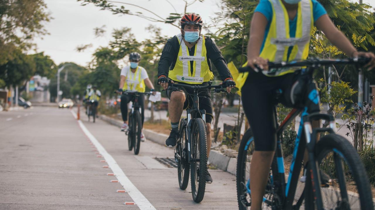 Barranquilla celebra el día mundial de la bicicleta – @transitobq