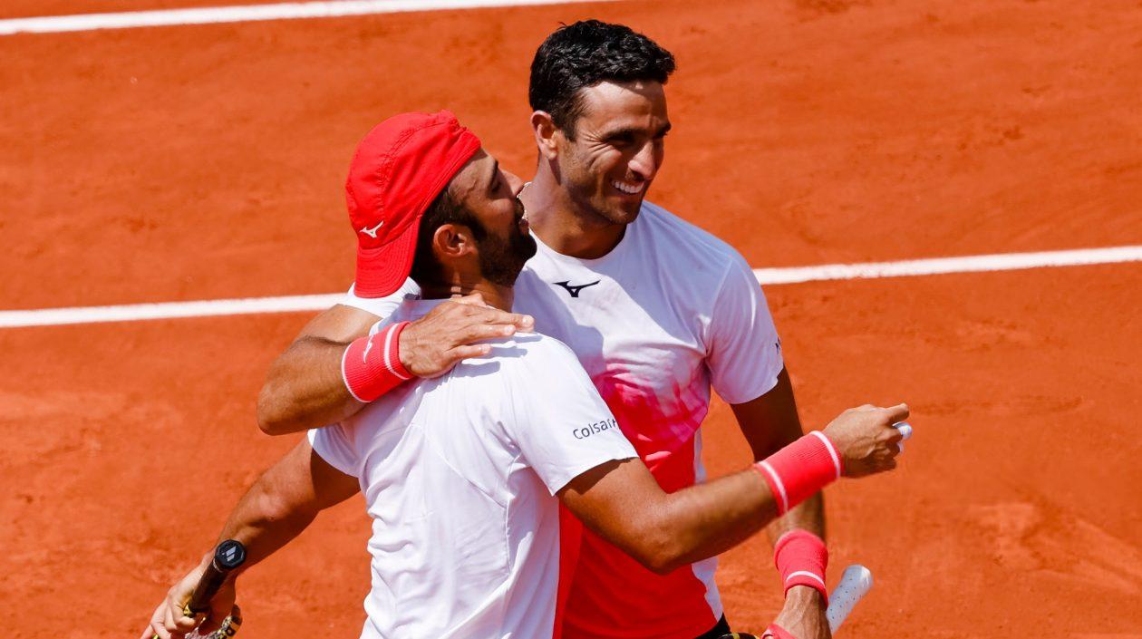 Juan Sebastián Cabal y Robert Farah se instalaron en las semifinales del Roland Garros