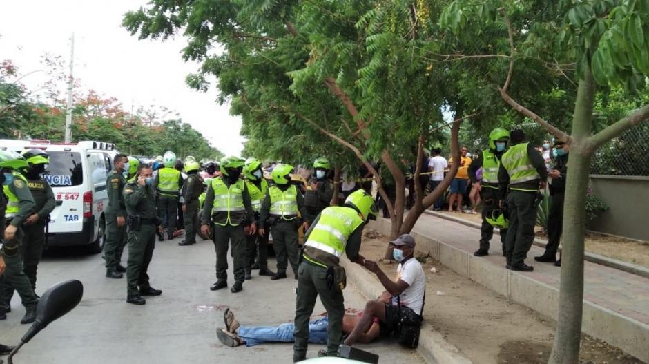 Ataque de sicarios dejó a una persona muerta en la Urbanización Caribe Verde de Barranquilla