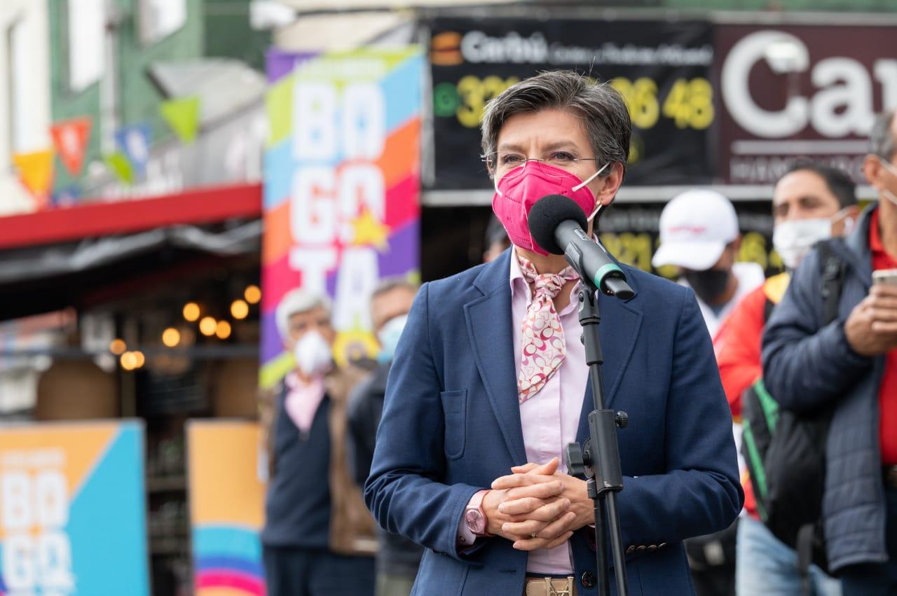 """""""No nos vamos a quedar en mezquindades políticas. Estamos en modo reconciliación, reactivación y generación de empleo"""": Alcaldesa Mayor"""