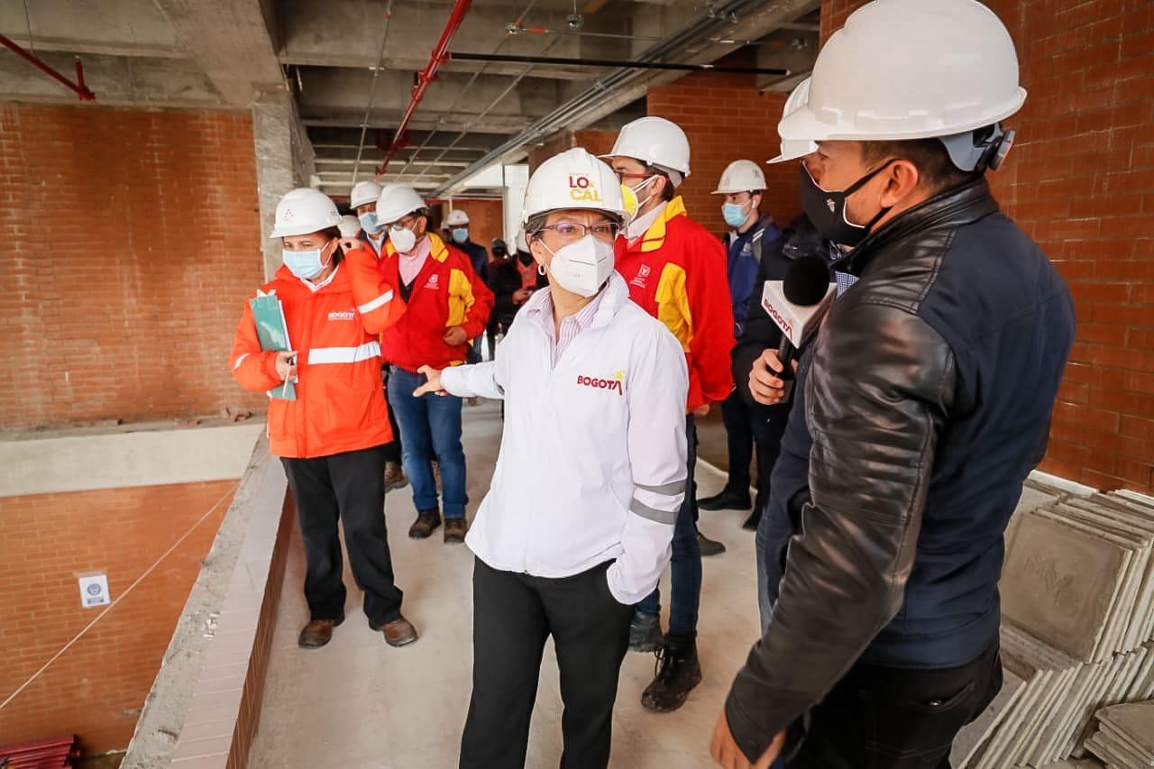 Alcaldesa Claudia López supervisó obras de infraestructura que se adelantan en Fontibón – @Bogota
