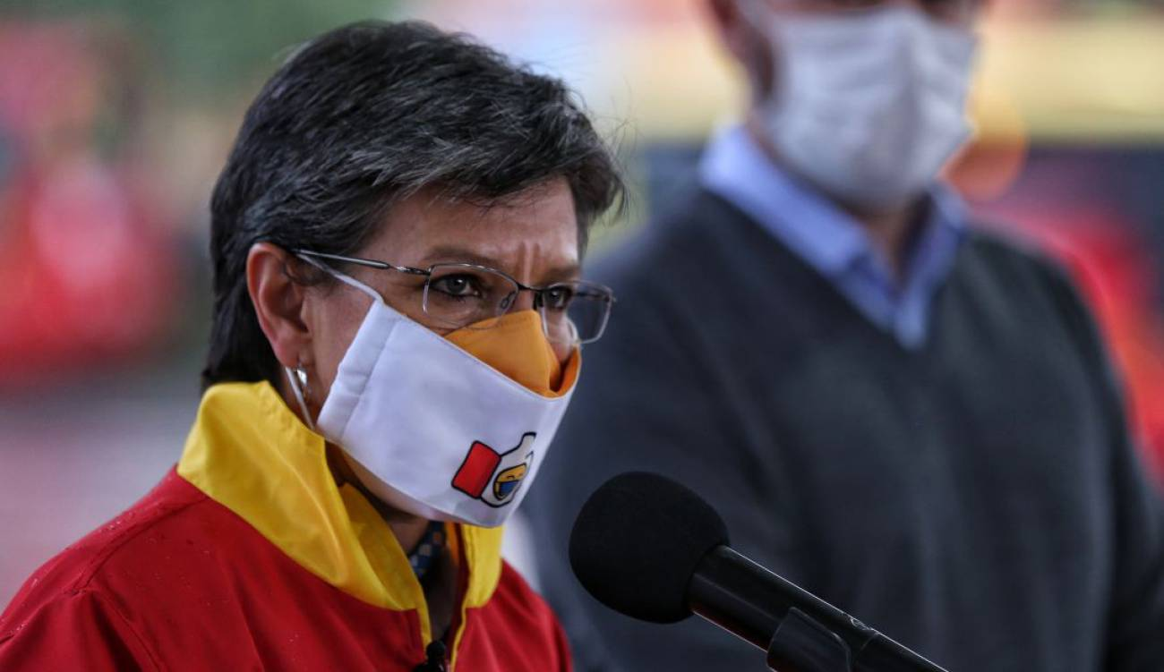 """Claudia López: """"La variante Delta ya debe estar circulando en Bogotá"""""""