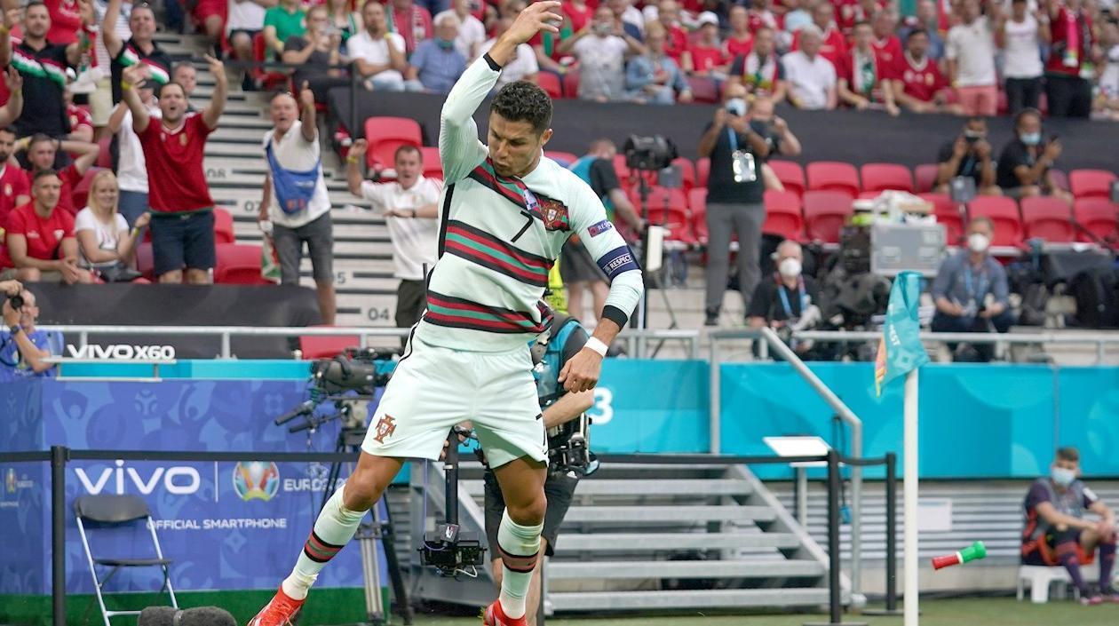 Portugal ganó en su debut 3-0 a Hungría y CR7 agrandó su leyenda en la casa de Puskas