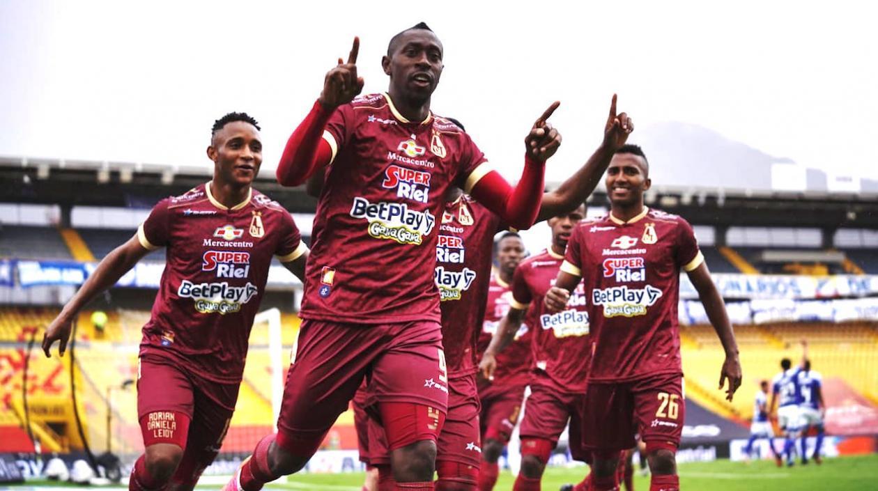 Tolima se coronó campeón de la Liga Colombiana 2021-I