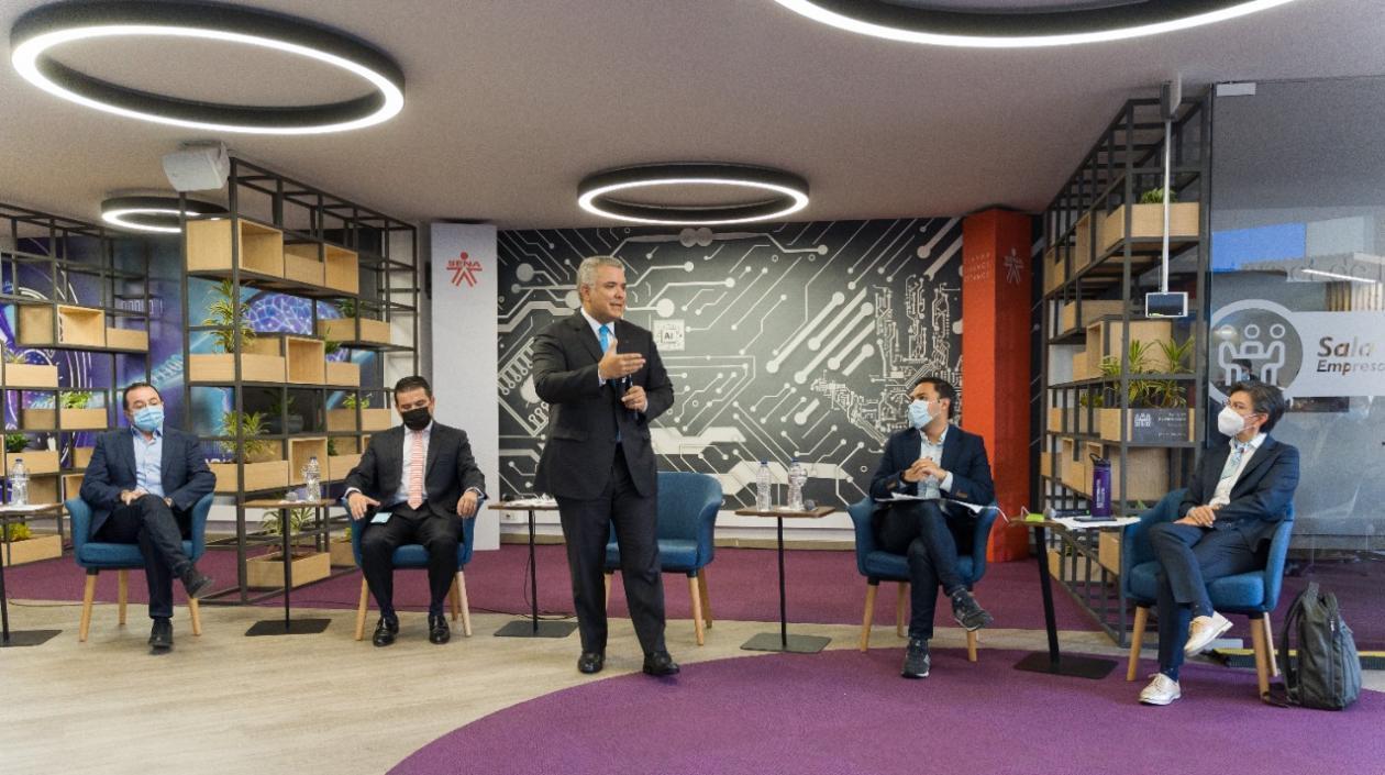 @IvanDuque lanza gran estrategia del Sena para formación y empleo de los jóvenes
