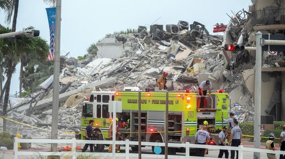Ya son 18 los cuerpos recuperados en edificio desplomado en Miami