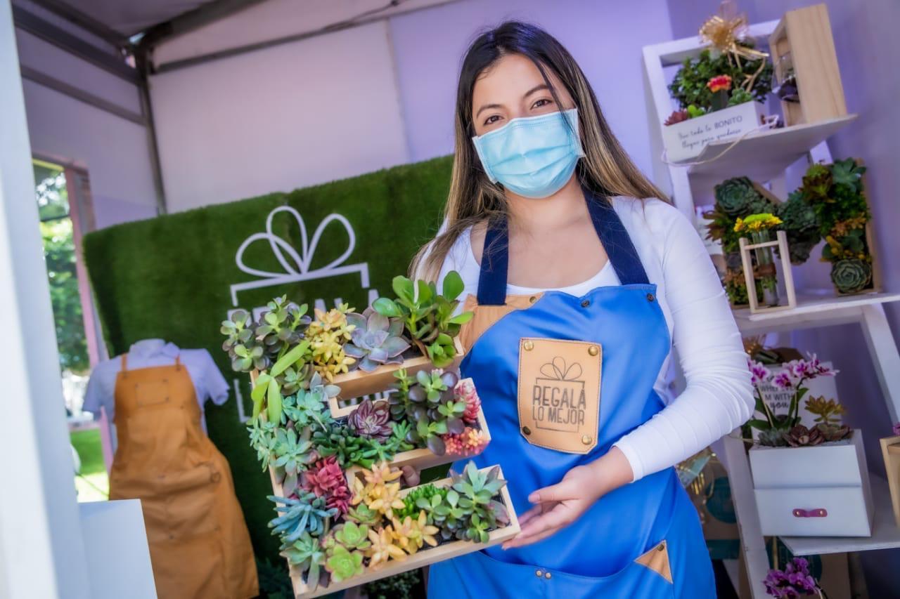 La feria en el país que apoya la reactivación económica del emprendimiento femenino – Claudia López Alcaldesa Mayor de Bogotá
