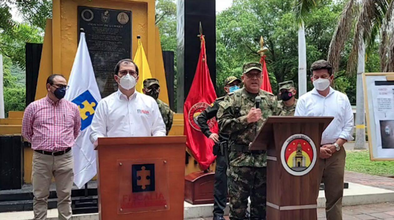 Fiscalía: «Camioneta entró a la Brigada 30 a las 12:35 pm y fue detonada a las 3:01 p.m»