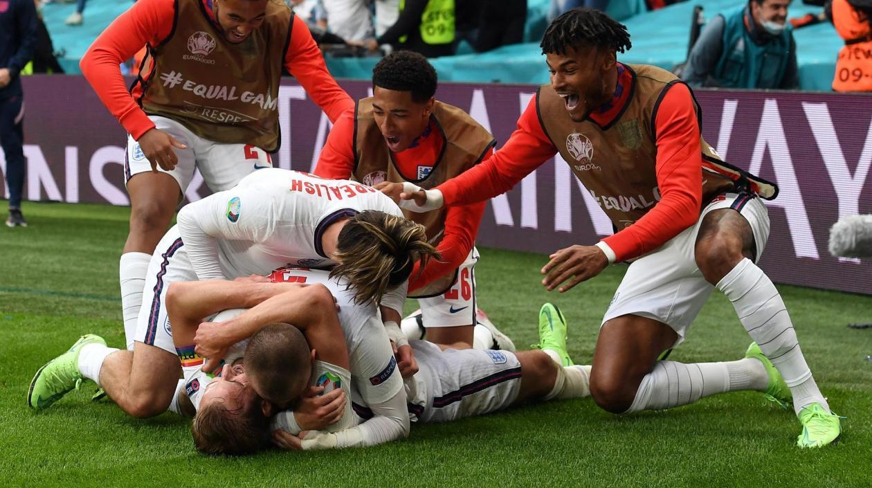 Inglaterra se quita la mala racha contra Alemania y la elimina de la Euro 2020