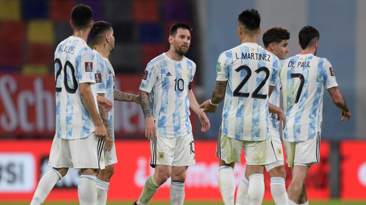 Argentina se encuentra en Barranquilla para enfrentarse a Colombia