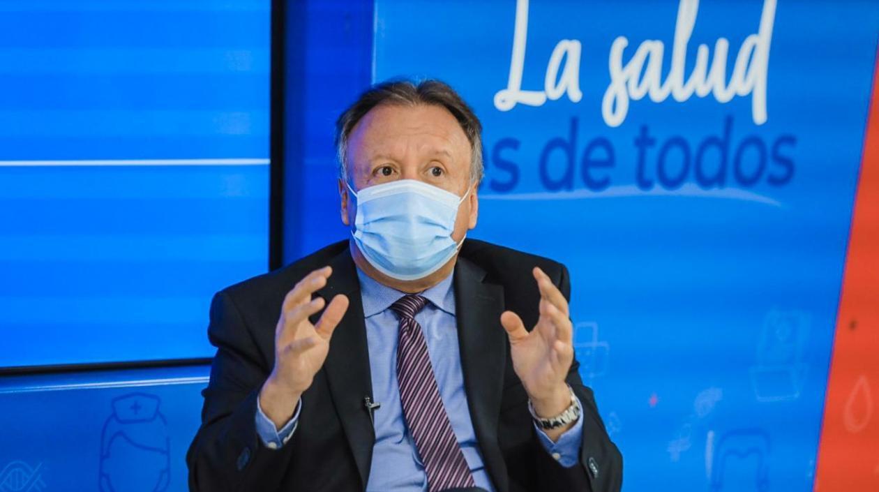 """Viceministro de Salud: """"Lo que viene en la pandemia depende de los colombianos"""""""