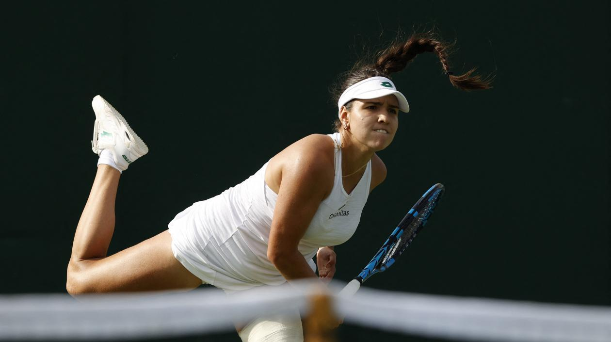 Maria Camila Osorio clasificó a la tercera ronda de Wimbledon tras vencer a Ekaterina Alexandrova