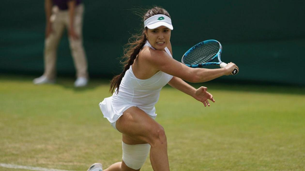 María Camila Osorio hace historia y entra al cuadro principal de Wimbledon