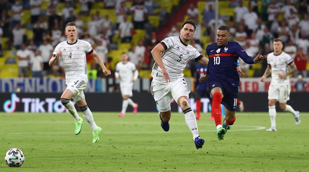 Francia dio un golpe de autoridad en Múnich: venció 1-0 a Alemania