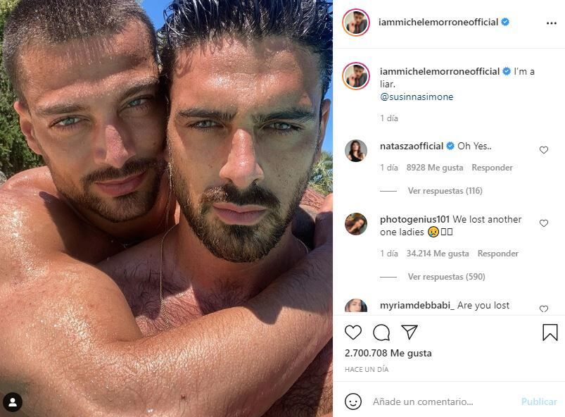 El actor italiano Michele Morrone aclara dudas acerca de su orientación sexual