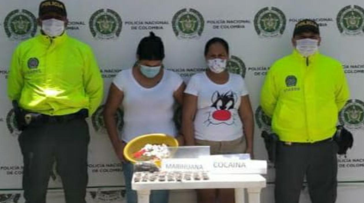 Detienen a alias 'La india' y 'La santandereana' de la estructura delincuencial 'Los Pachenca'