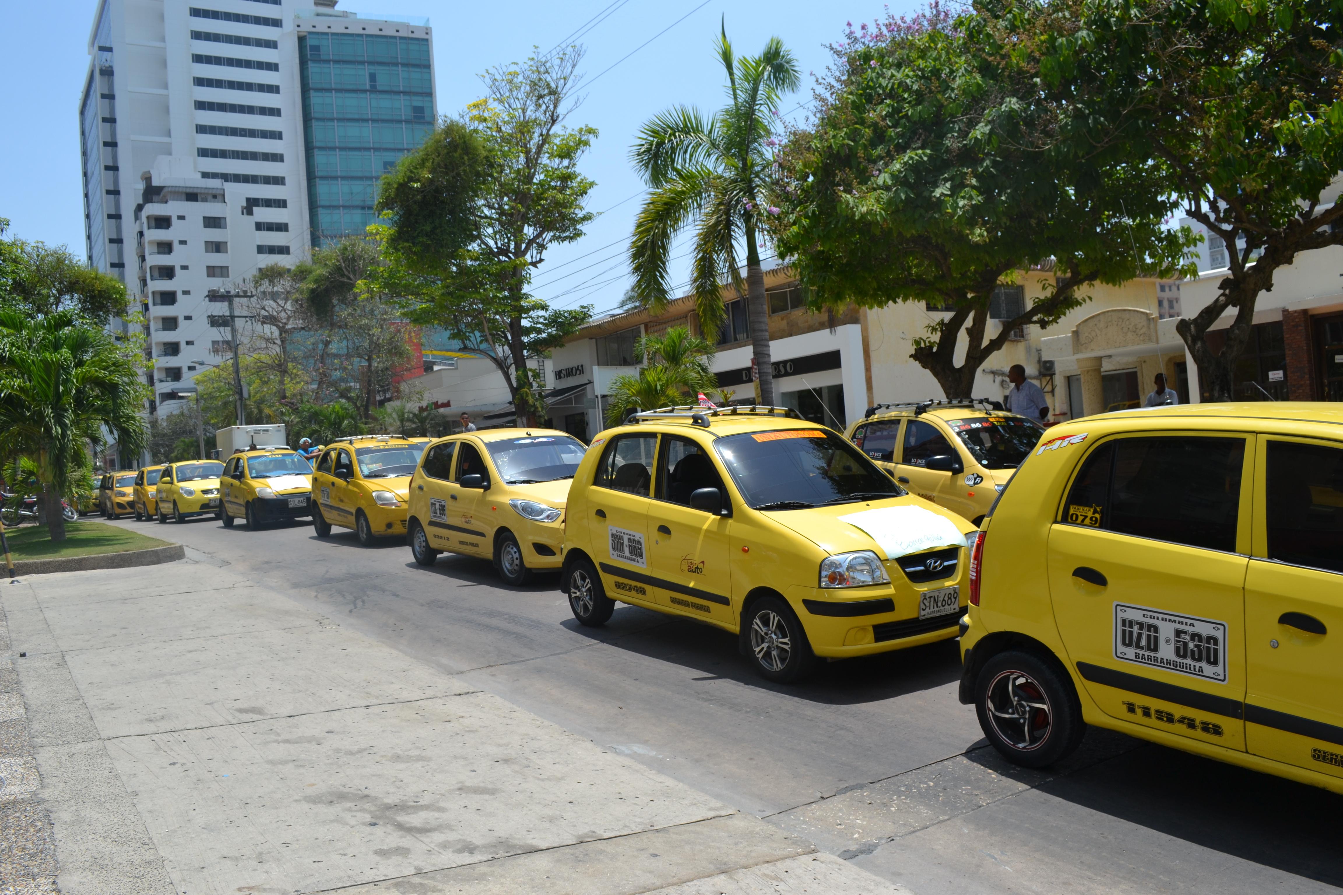 Taxis laboran al 100% de su capacidad en la reactivación barranquillera – @alcaldiabquilla