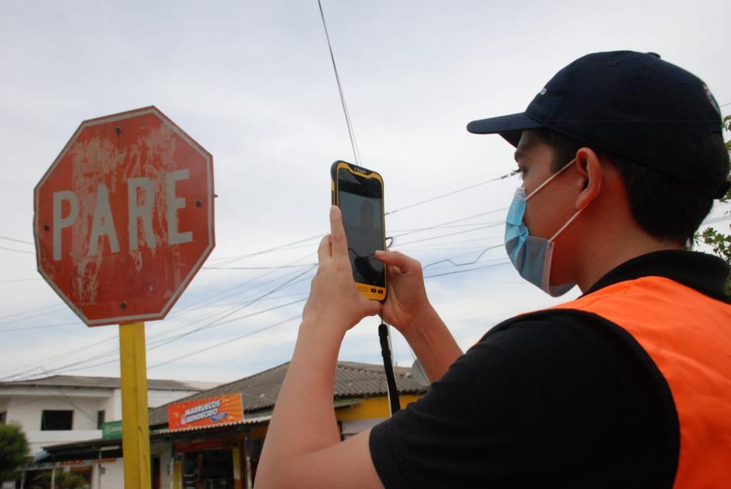 Tránsito del Atlántico recopila datos sobre el estado y señalización de las vías para su mejoramiento