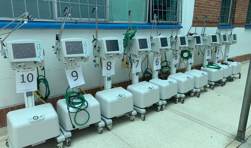 135 ventiladores adicionales serán entregados a la red salud Departamental
