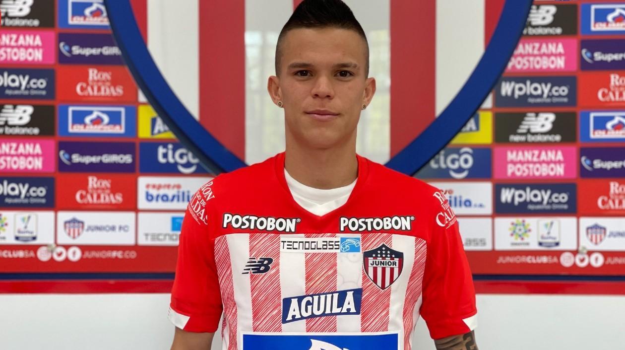 Walmer Pacheco se convierte en el nuevo jugador del Junior de Barranquilla