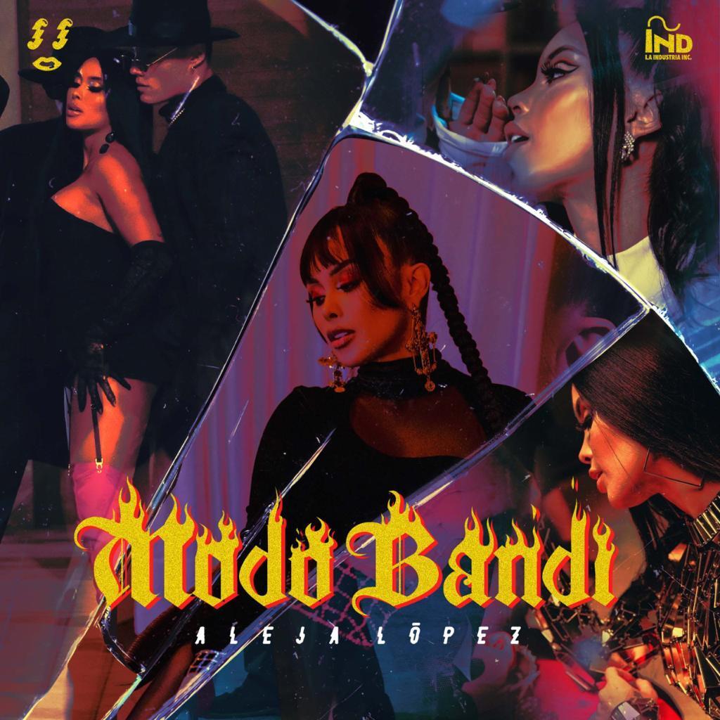 Aleja López, muy sensual y empoderada en 'MODO BANDI'