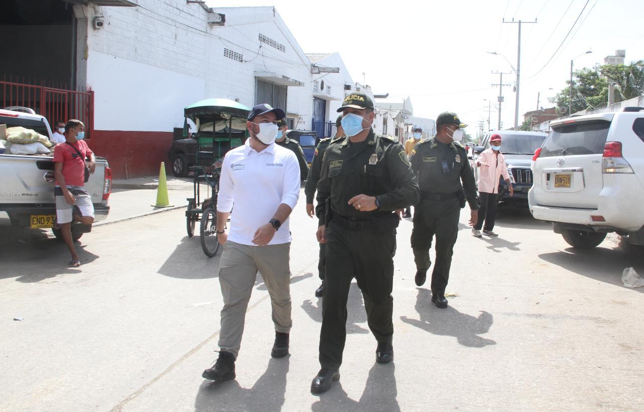 Distrito y fuerza pública despliegan acciones articuladas por la seguridad de Barranquillita – @alcaldiabquilla
