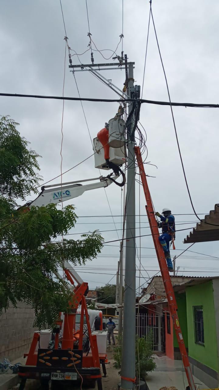 280 familias del barrio Prado Soledad beneficiados con nuevas redes eléctricas – @aire_energia