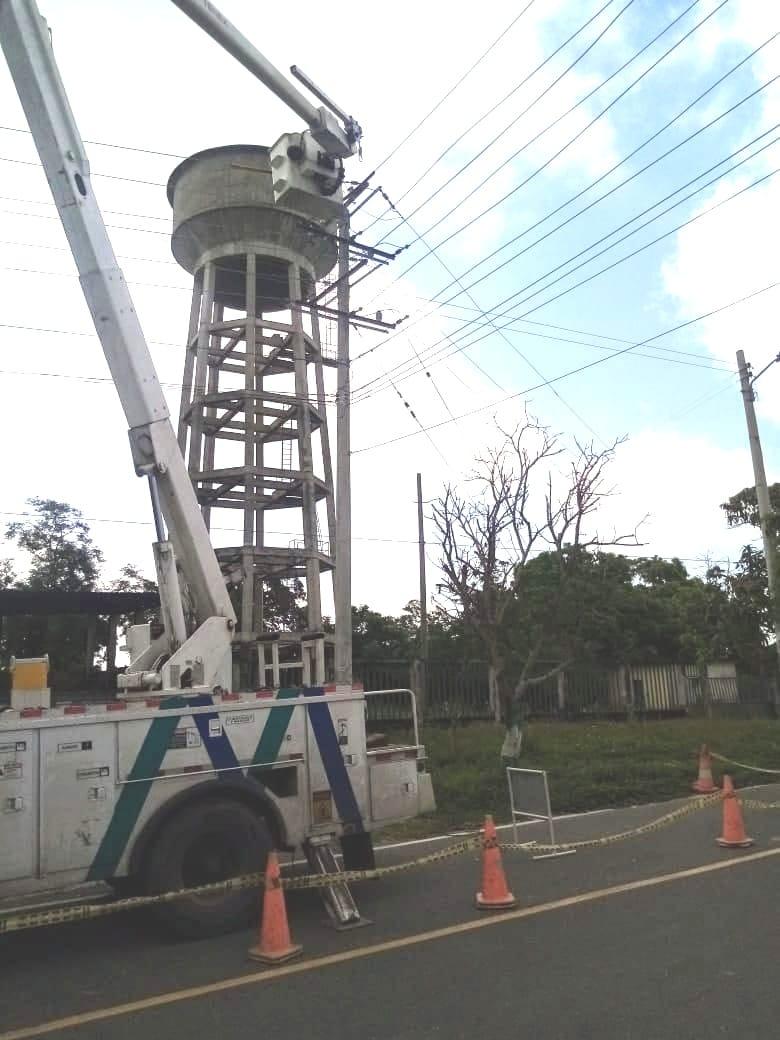 Este domingo 4 de julio: Mantenimiento de torres eléctricas en Soledad – @aire_energia