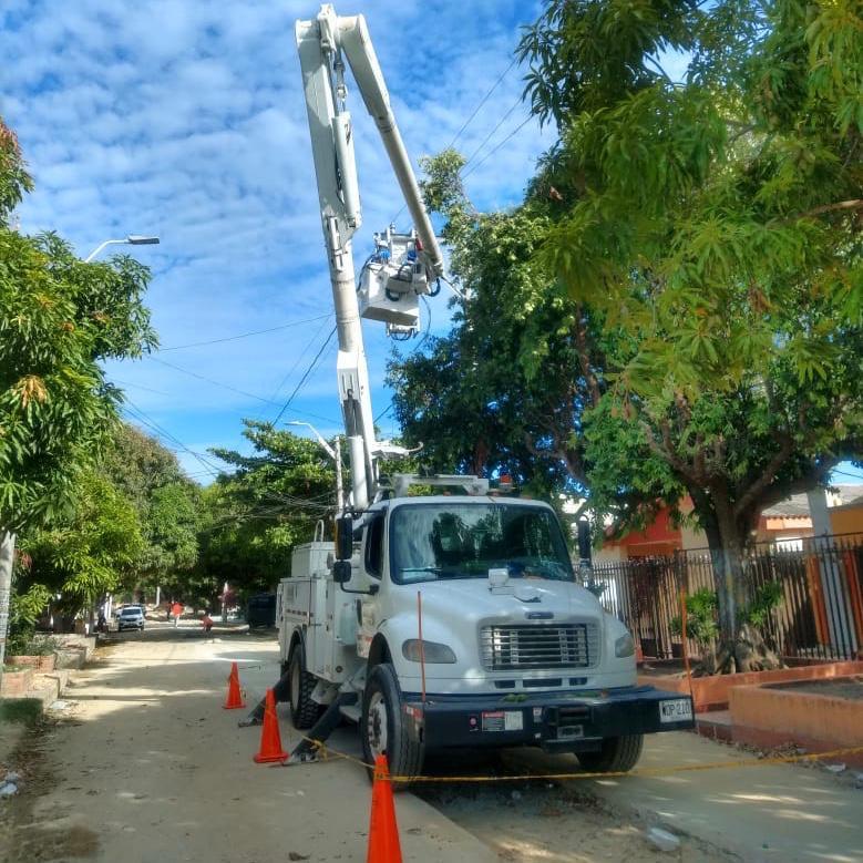 Mantenimiento y adecuación de redes en sectores de Barranquilla el viernes 9 de julio – @aire_energia
