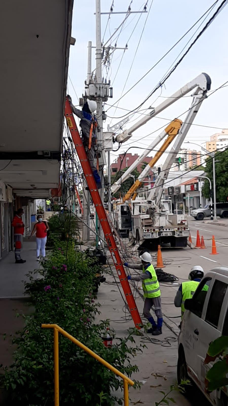 Labores de mantenimiento en sectores del norte y sur de Barranquilla este lunes – @aire_energia