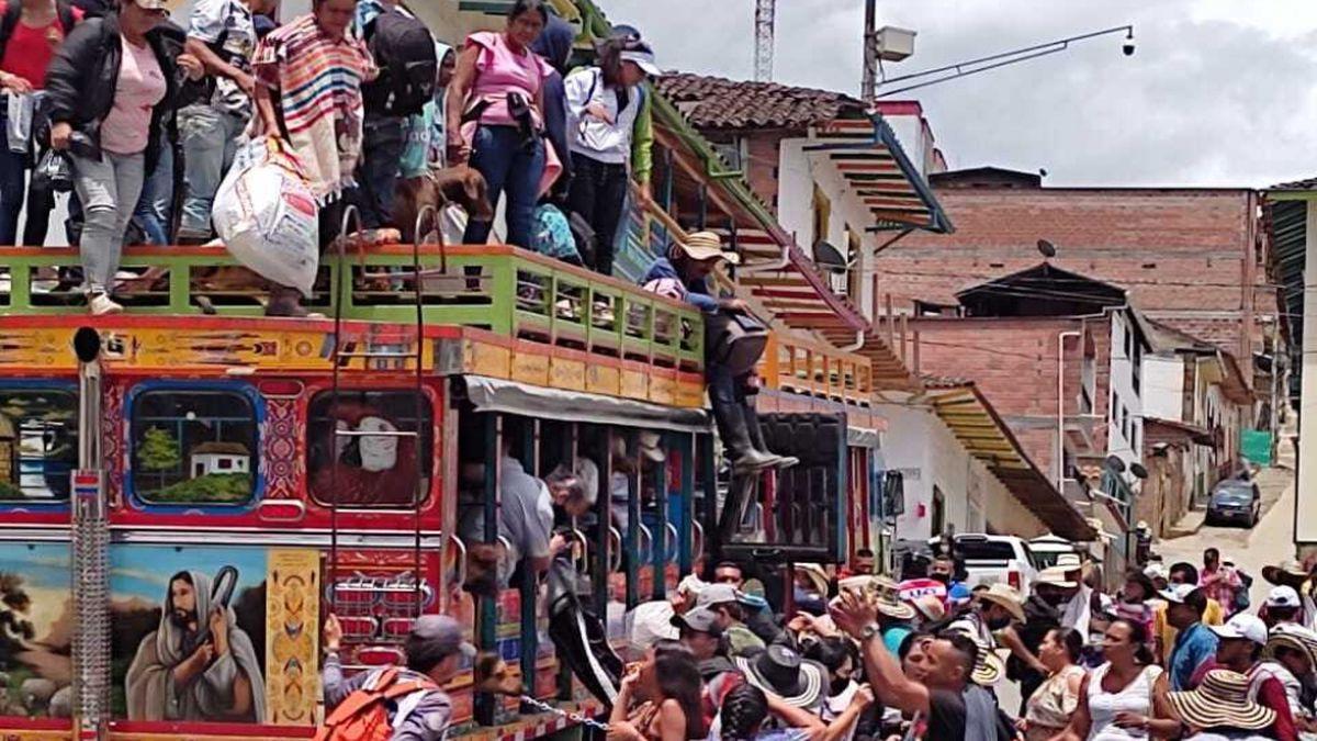 La cifra de desplazados en Ituango asciende a más de 4.000 personas